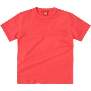 Camiseta Infantil Basica Laranja Kyly 107628