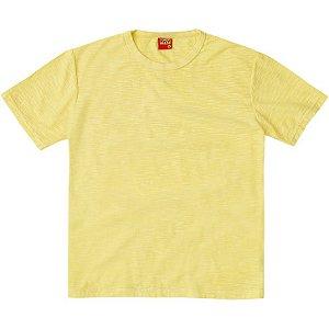 Camiseta Infantil Masculina Basica Amarela Kyly 107643
