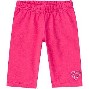 Bermuda Infantil em Cotton Pink Kyly 106883