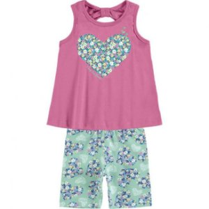 Conjunto Infantil Regata + Short Malha Kyly 109319