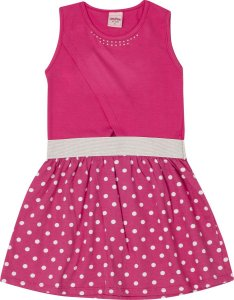 Vestido Infantil Pink Serelepe 5596