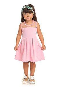 Vestido infantil Rosa Serelepe 5559