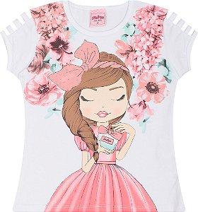 Camiseta Infantil Serelepe Branca 5038