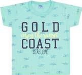 Camiseta Infantil Masculina Azul Claro Serelepe 4584