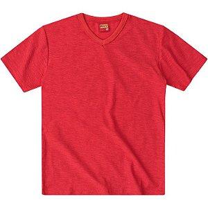 Camiseta Basica Lisa Vermelho Kyly 107630