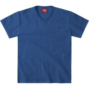Camiseta Basica Lisa Azul Royal Kyly 107630