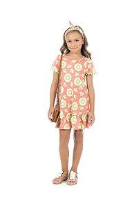 Vestido Infantil Pega Mania 52109