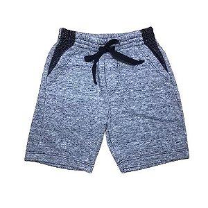 Bermuda Infantil Fleece Cinza Pega Mania 81461