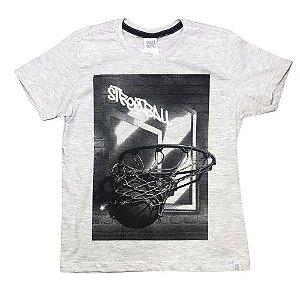 Camiseta Infantil Basquete Pega Mania 31579