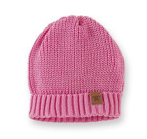 Touca em Tricô Infantil Pink Pingo Lele 66261