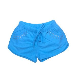 Short Fleece Pega Mania 82278 Azul