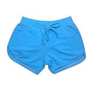 Short Fleece Pega Mania 82277 Azul