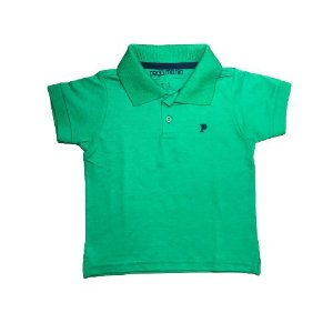 Camisa Polo Básica Pega Mania 35059 Verde
