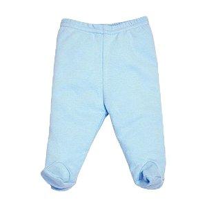 Calça Culote Liso Pingo Lelê 65658 Azul