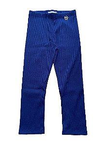 Legging Canelada Azul Mon Sucré 8026