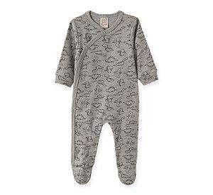 Macacão Bebê Mescla em Suedine Pingo Lelê 66678