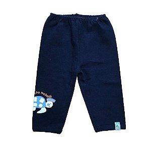 Calça p/ Bebê Tartaruga Bicho Molhado 778381 Azul Marinho