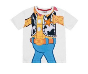 Camiseta Toy Story Disney Fakini 1603493 Branco