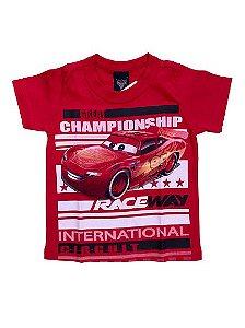 Camiseta Infantil Carros Vermelha Malwee 28697