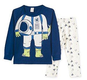 Pijama em Malha Infantil Astronalta Pingo Lelê 86190