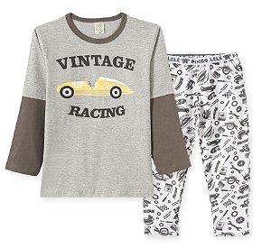 Pijama Longo em Malha Carros Pingo Lelê 86194