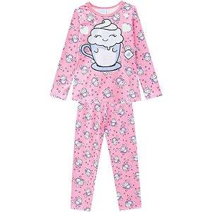 Pijama Longo Anti Mosquito Café & Chantilly Kyly 207534
