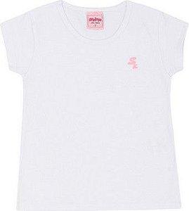 Blusa Infantil Lisa Serelepe 4629 Branco
