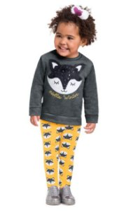 Conjunto Infantil Legging + Casaco Kyly 207353