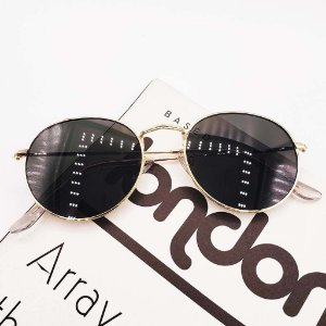 Óculos Paris Rond (G15) - Hastes douradas