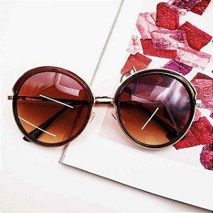 Óculos de Sol Diane (Marrom)