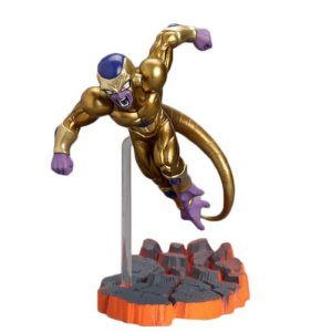 ACTION FIGURE DRAGON BALL FREEZA DOURADO