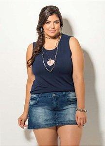 Blusa Plus Size Regata Várias Cores