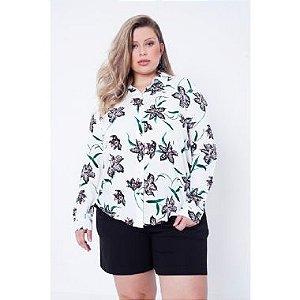 Camisa Plus Size Alfaiataria Julia Plus