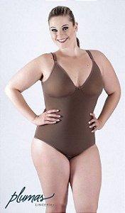Body Redutor Plus Size Sem Bojo
