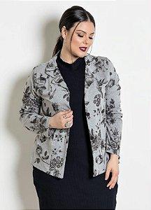 Blazer Plus Size Floral