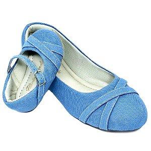 Sapatilha Jeans Azul Claro X Comfort