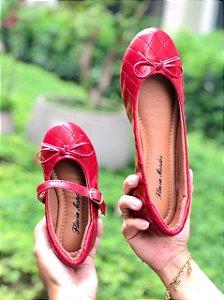 Sapatilha Vermelha Matelassê Comfort