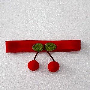 Faixa Cereja Vermelha para bebê