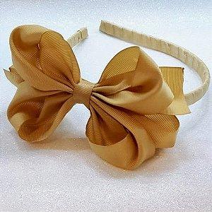 Tiara Dourada Gorgurão