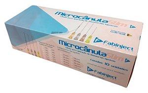 Microcânula Slim Fabinject Caixa (10un)