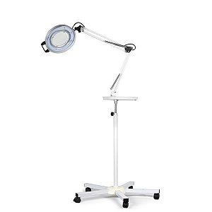 Lupa de Aluminio LED Tripe e Bandeja - Estek
