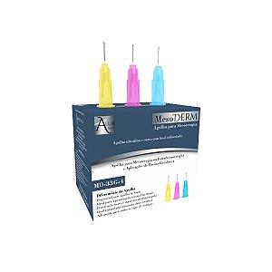 Agulha para Toxina Alur 33Gx4mm Caixa (100un)