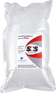 Álcool Em Gel 70% Bag 5l Gel Higienizador - Essencial