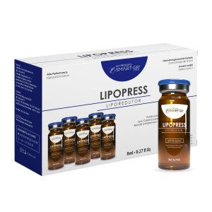 LIPOPRESS - Liporredutor - 5 Frascos de 8 ml - Intradermoterapia Pressurizada - Smart GR
