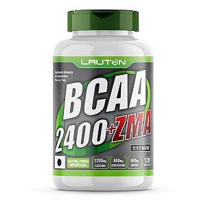 Bcaa 2400 + Zma - 120 Comprimidos - Lauton Nutrition