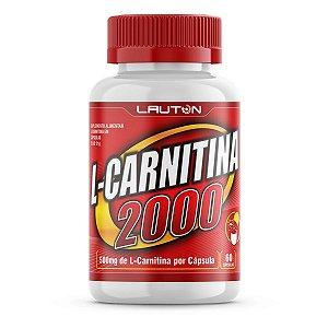 L-Carnitina 2000mg - 120 Cápsulas - Lauton Nutrition