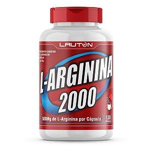 L-Arginina 2000mg - 120 Cápsulas - Lauton Nutrition