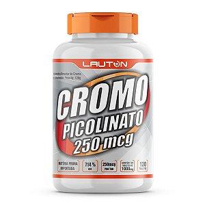 Cromo Picolinato 250Mcg - 120 Cápsulas - Lauton Nutrition