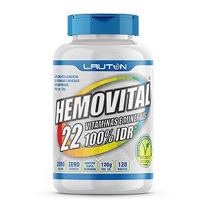 Hemovital - Multivitaminico e Polimineral – 120 Comprimidos - Lauton Nutrition
