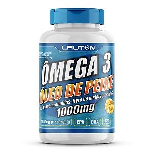 Ômega 3 – Óleo de Peixe 1000mg - 120 Cápsulas - Lauton Nutrition